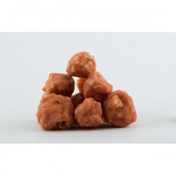 PET INTEREST-  MEATBALLS WITH CHICKEN AND RICE Λιχουδιές- Snacks