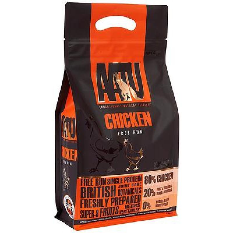 AATU FREE RUN CHICKEN Ξηρά Τροφή Σκύλου