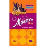 MAESTRO ΣΥΝΤΗΡΗΣΗΣ 15KG- ΝΙΤΣΙΑΚΟΣ Ξηρά Τροφή Σκύλου