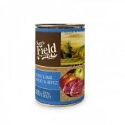 SAM'S FIELD ΚΟΝΣΕΡΒΑ ΣΚΥΛΟΥ- ΑΡΝΙ & ΜΗΛΟ Υγρή τροφή- Κονσέρβες σκύλου