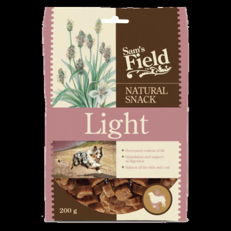 SAM'S FIELD ΛΙΧΟΥΔΙΕΣ ΣΚΥΛΟΥ- LIGHT ΚΟΤΟΠΟΥΛΟ 200γρ Λιχουδιές- Snacks