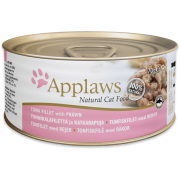 APPLAWS ΚΟΝΣΕΡΒΑ ΓΑΤΑΣ- ΤΟΝΟΣ & ΓΑΡΙΔΑ Υγρή τροφή- Κονσέρβες γάτας