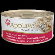 APPLAWS ΚΟΝΣΕΡΒΑ ΓΑΤΑΣ- ΚΟΤΟΠΟΥΛΟ & ΠΑΠΙΑ Υγρή τροφή- Κονσέρβες γάτας
