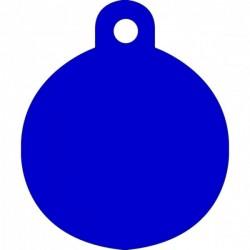 Μικρή Μπλε Ταυτότητα Σκύλου/ Γάτας- Κύκλος