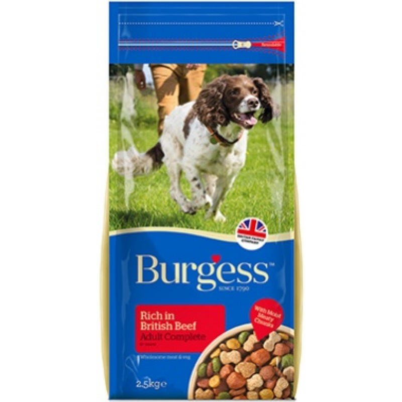 BURGESS BEEF ADULT 15kg- ΒΟΔΙΝΟ Ξηρά Τροφή Σκύλου