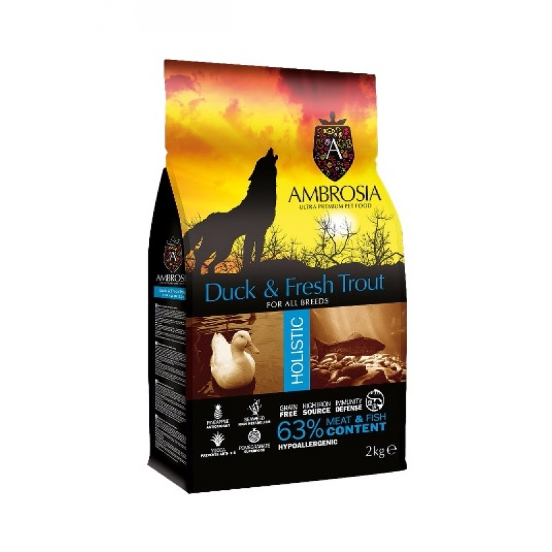 AMBROSIA ΒΟΥΒΑΛΙ & ΣΚΟΥΜΠΡΙ Ξηρά Τροφή Σκύλου