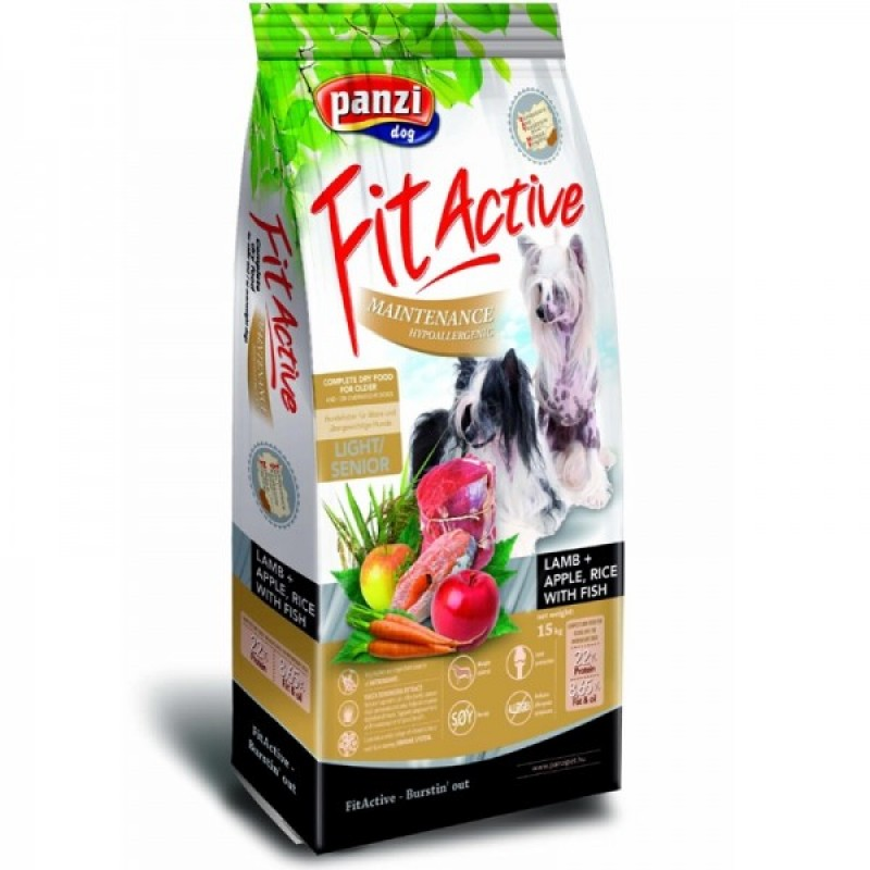 FIT ACTIVE ADULT HYPOALLERGENIC LIGHT & SENIOR- LAMB